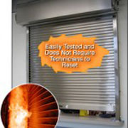 Alpine Overhead Door - Auto Fire-Shut Automatic Closing Fire Shutters