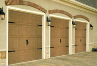 Haas 2400-Series Garage Doors