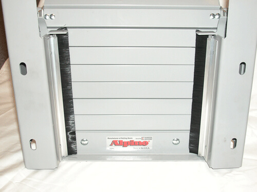 Alpine Overhead Door - Smoke Fire-Shut Split Frame Fire & Smoke Shutters